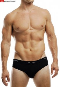 Go Softwear M Padded Butt Brief Underwear Black 2734