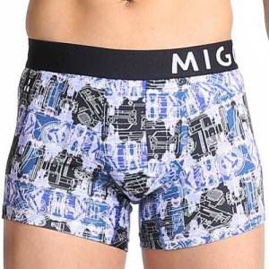 MIGO Motorpuzzle Boxer Brief Underwear Navy