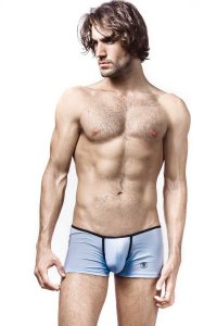 L'Homme Invisible Bodyscapes Boxer Brief Underwear Light Blue MY04L-BLA-021