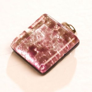 Elite Jewelry Murano Pendants Square Shape
