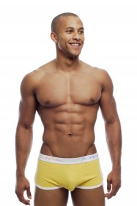 Go Softwear POP Retro Boxer Brief Underwear Yellow 2414