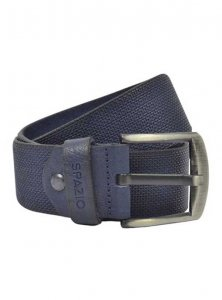 Spazio Gradient Textured Belt Navy 3563