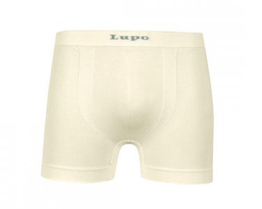 Lupo Micromodal Seamless Boxer Brief Underwear Natural 661-01