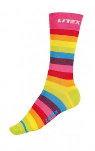 Litex Designer Stripes Socks 99664