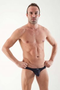 Geronimo Bulge Brief Underwear Black 1357S3