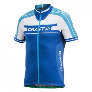Craft Grand Tour Jersey Short Sleeved T Shirt Royal/Aquamarine/White 1902615