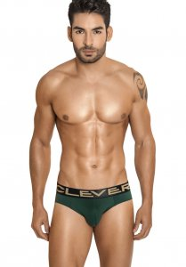 Clever Modena Latin Brief Underwear Dark Green 5186