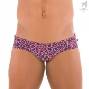CA-RIO-CA Navy Brief Cut Bikini Swimwear CRC-S419700