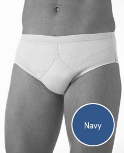 Jockey Comfort Rib Brief Underwear Navy M9110G