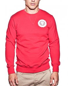 Supawear Sports Club Long Sleeved Sweater Red J10SCRE