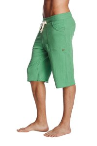 4-rth Eco Track Shorts Solid Bamboo Green