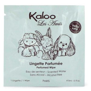 Kaloo Les Amis Pefumed Wipes 0.1 oz / 2.96 mL 542960