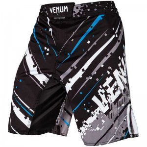 Venum Pixel Geometric Print Combat Fight Boardshorts Beachwe...