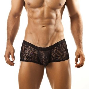 Joe Snyder Xpression Boxer Brief XPS Lace Black Underwear