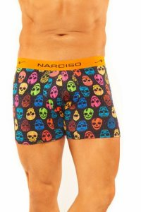 Narciso Boxer Brief Underwear LAZZY SKULL