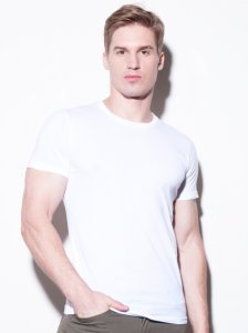 N2N Bodywear Basic Short Sleeved T Shirt White BC2