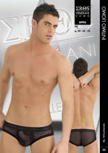 Eros Veneziani Criss Cross Brief Underwear 6996