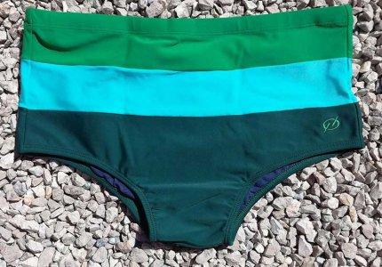 1eecd15933dd78 Bullywear Lemon Twist Square Cut Trunk Swimwear White LEM [LEM ...