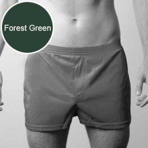 Players Nylon Tricot Boxer Underwear Forest Green