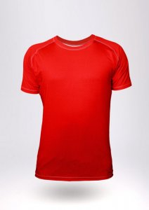 Geronimo Short Sleeved T Shirt Red 1852T5-2