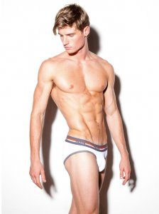 N2N Bodywear Quantum Brief Underwear White UN92