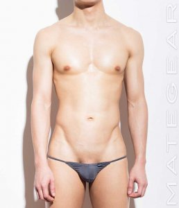 Mategear Nam Woo Air Nylon Signature Series Extremely Sexy Mini Bikini Underwear Dark Grey 680103