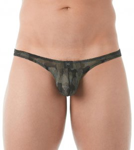 Clearance Gregg Homme CAMO Thong Underwear 143004