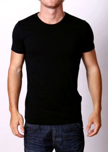 By The People Premium Basic Short Sleeved T Shirt Black
