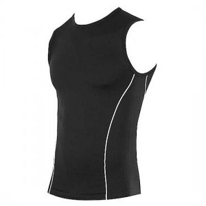 Speedo Seamless Muscle Top T Shirt Black 443012