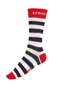 Litex Designer Stripe Socks 99662