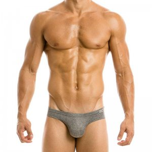 Modus Vivendi Mohair Brief Underwear Grey 03712