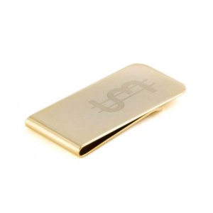Ulterior Motive UM$ Money Clip Gold
