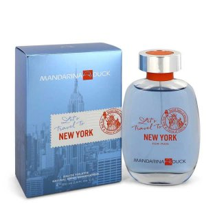 Mandarina Duck Let's Travel To New York Eau De Toilette Spra...