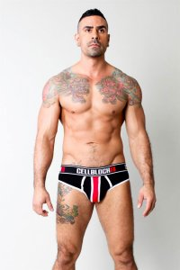 CellBlock 13 Viper Brief Underwear Black CBU039