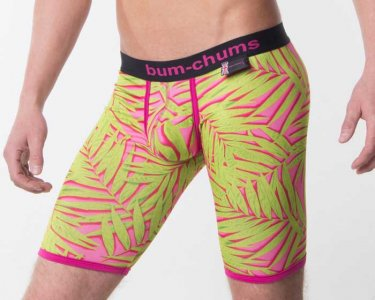 Bum-Chums Tropic Bermuda Cup Long Boxer Brief Underwear