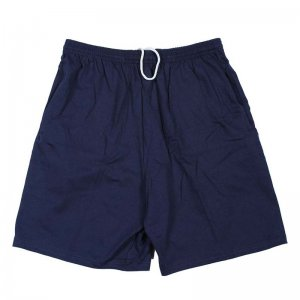 Hanes Cotton Lounge Shorts Navy 8790