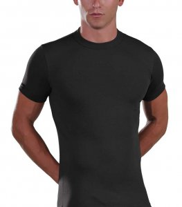 Lord Elastic Short Sleeved T Shirt Black 1200
