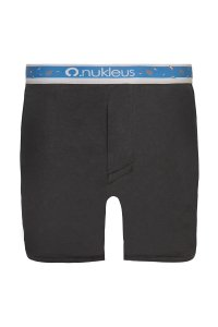 Nukleus Seed Collection Seed Of Greatness Loose Boxer Shorts Underwear Black N-SE-03