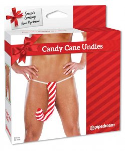 Pipedream Xmas Candy Cane G String Underwear 813400