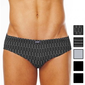 [5 Pack] Papi Assorted Conventional Low Rise Brief Underwear 554118-962
