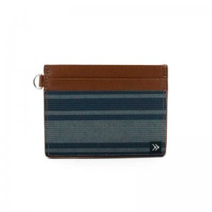 Thread Wallets Cove Slim Leather Card Holder Wallet