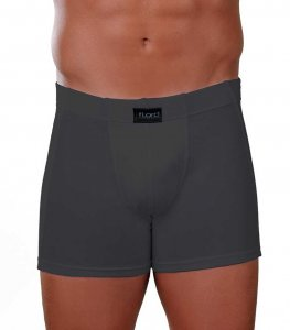 Lord Elastic Boxer Brief Underwear Charcoal 150