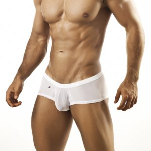 Joe Snyder Bulge Boxer Brief BUL03 Mesh White Underwear & Swimwear
