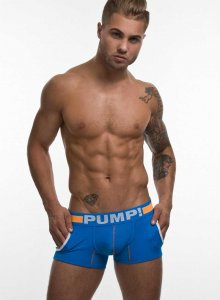 Pump! Cruise Jogger Boxer Brief Underwear Blue/Orange 11052
