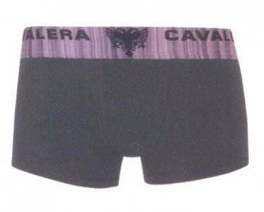 Cavalera Cotton/Elastane Trunk Boxer Brief Underwear Black 430-02