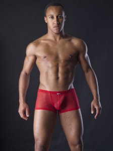 MANstore M255 Mini Pants Boxer Brief Underwear Brick 2-08244/3508