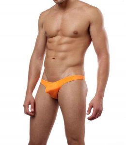 Cover Male Pouch Enhancing Thong Underwear & Swimwear Orange 202