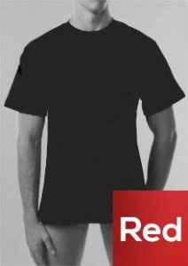 Geronimo Short Sleeved T Shirt Red 270