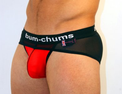 Bum-Chums Tool Belt Ignite Brief Underwear Red