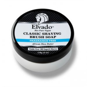 Elvado Fragrance Free Classic Shaving Brush Soap Personal Ca...